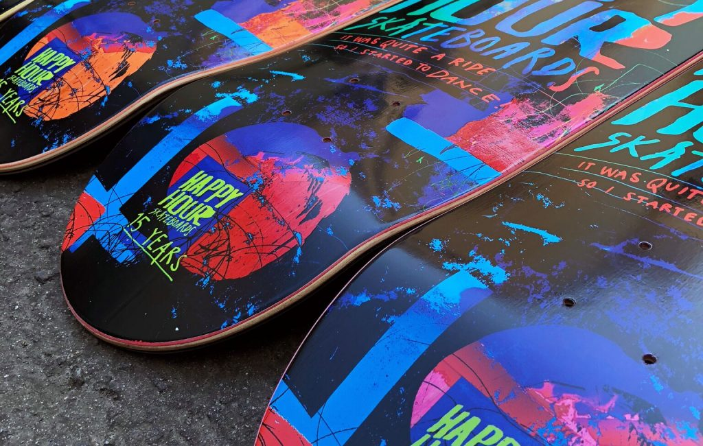 Happy Hour Skateboards